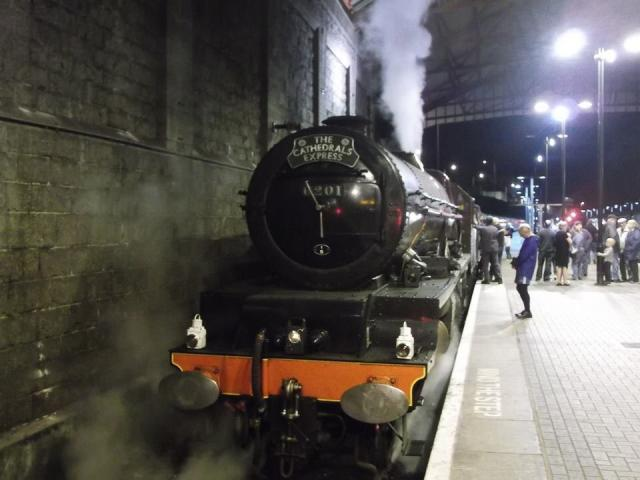 Penzance station | Steam Train Princess Elziabeth