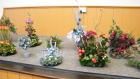Tableau of Christmas Flower Arrangements 2012 part two